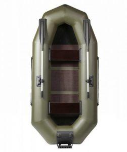 Лодка ПВХ Лоцман С-260-М ЖСП надувная гребная